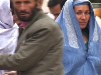 Woman in Kabul Market