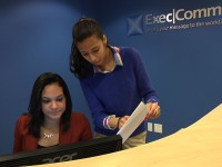 Cristo Rey Students Work At Midtown Office