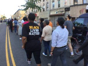 Protestors March Peacefully on Utica Avenue, Brooklyn