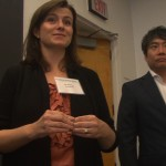 Ally Downey, CEO & Founder, weeSpring and winner of Crain's New York Business Perfect Pitch Competition